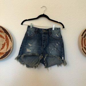 One by One Teaspoon Bonita Shorts
